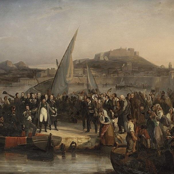 Napoleon opuścił Elbę pod koniec lutego 1815 roku.