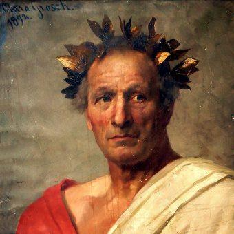 Juliusz Cezar odmówił przyjęcia korony, ale w rzeczywistości sprawował w Rzymie władze niemal absolutną.