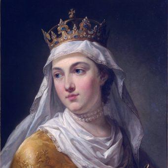 Jadwiga Andegaweńska poślubiła Władysława Jagiełlę, by związać Polskę bliżej z Wielkim Księstwem Litewskim.