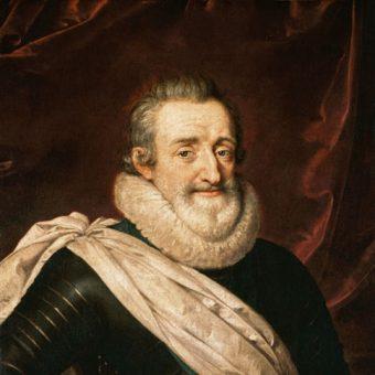 Henryk IV był pierwszym francuskim władcą z dynastii Burbonów.