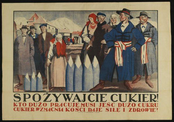Międzywojenne reklamy zachęcały do spożywania cukru. Szkoda tylko, że większości Polaków nie było na niego stać...
