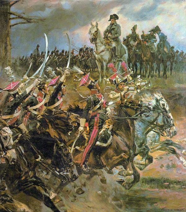 Apoteoza Napoleona autorstwa Wojciecha Kossaka (fot. domena publiczna)