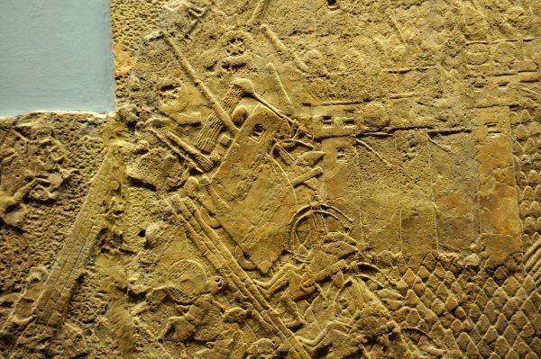 Atak Asyryjczyków na miasto Lachish za panowania Sennacheryba (fot. Osama Shukir Muhammed Amin FRCP(Glasg), lic. CCA-SA 4.0)
