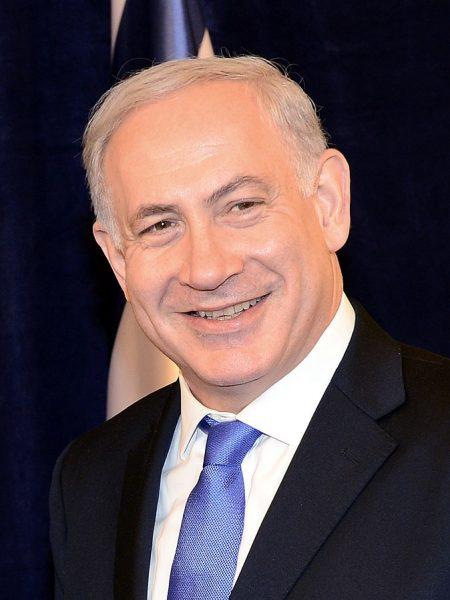 Benjamin Netanyahu na fotografii z 2012 roku.