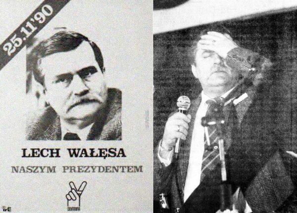 Przejście Tymińskiego do II tury ułatwiło Wałęsie drogę do wyborczego zwycięstwa.