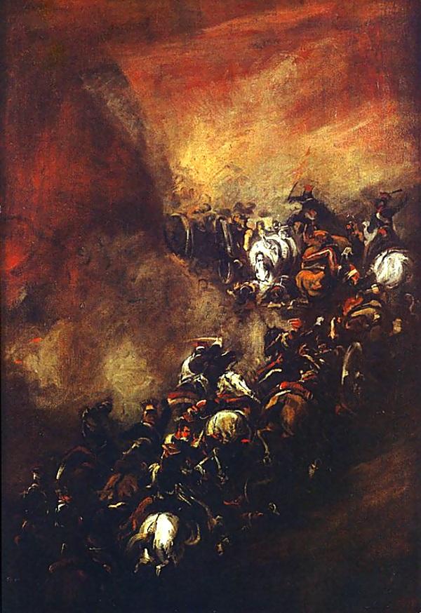 Bitwa pod Somosierrą, obraz Piotra Michałowskiego (fot. domena publiczna)