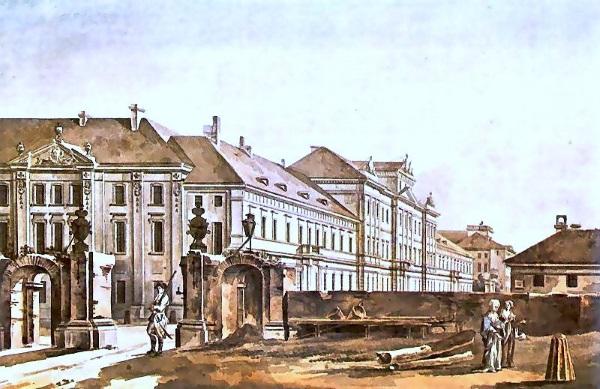 Collegium Nobilium po przebudowie 1788 r. (fot. domena publiczna)