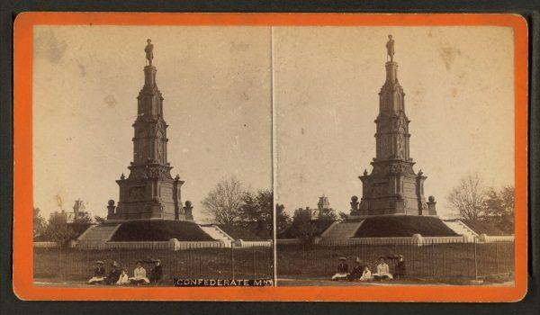 Konfederacki pomnik w Savannah (fot. domena publiczna)