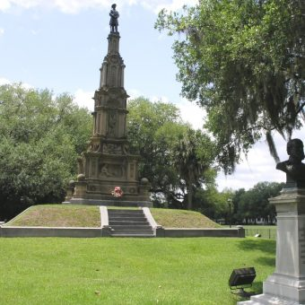 Konfederacki pomnik w Savannah (fot.Daniel Mayer, lic. GNU FDL)
