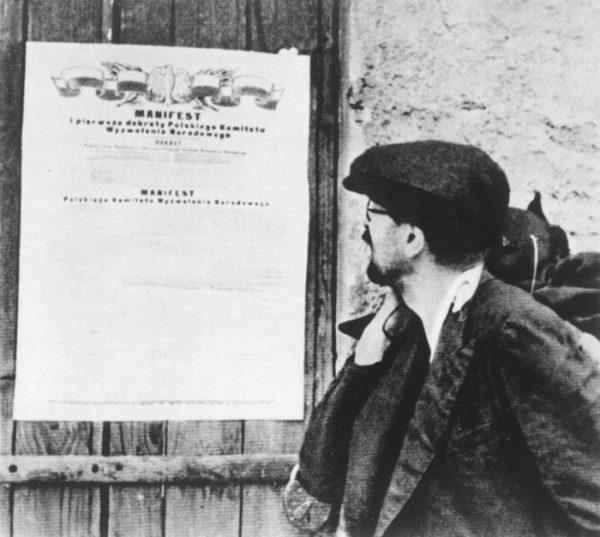 Obowiązkowe dostawy dla wojsk radzieckich narzucił Polakom Polski Komitet Wyzwolenia Narodowego.