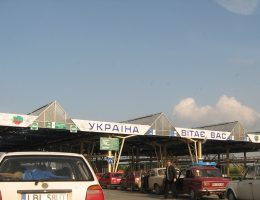 Przejście graniczne z Ukrainą (fot. Go Travel, lic. CCA 2.0)