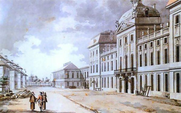 Szkoła Rycerska, której komendantem był Czartoryski (fot. domena publiczna)