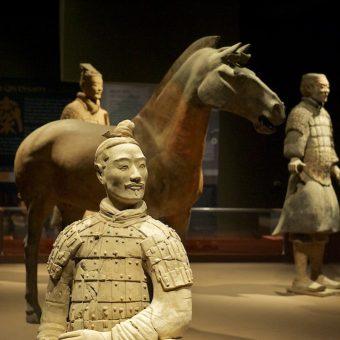 Terakotowa Armia. Figury wypożyczone do muzeum w Californi (fot. Gremelm, lic. CC BY-SA 3.0)