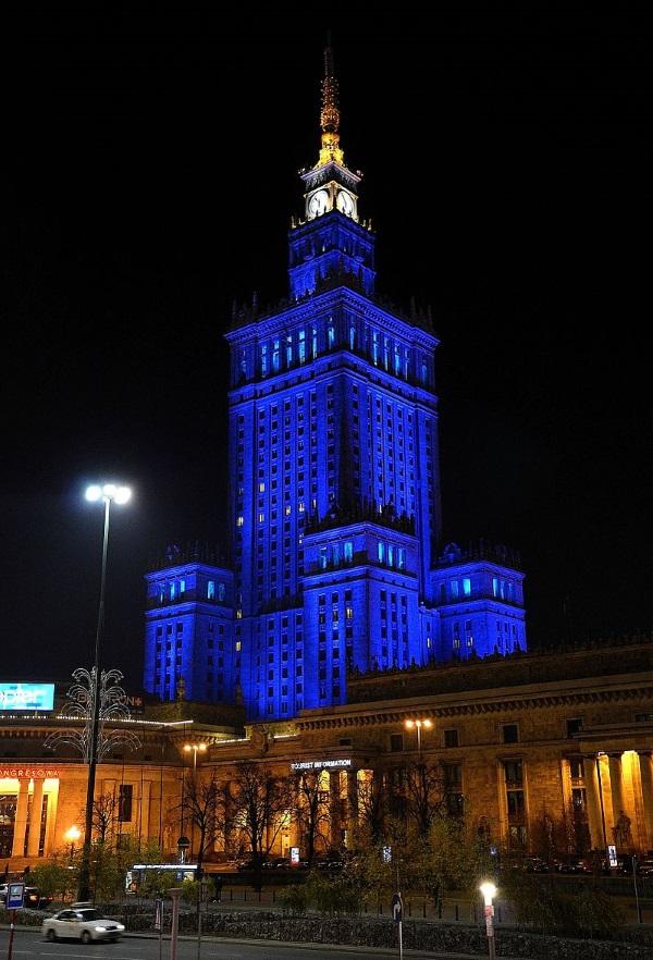 Trudno sobie wyobrazić krajobraz Warszawy bez Pałacu Kultury (fot. Adrian Grycuk, lic. CC BY-SA 3.0 pl)
