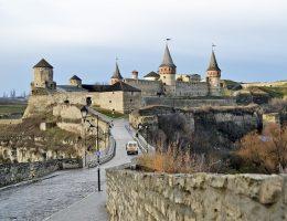Twierdza w Kamieńcu Podolskim (fot. enelene, lic. CC0)