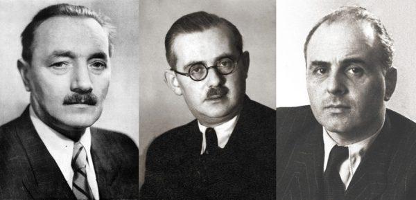 Symbolami owych czasów są nazwiska Bolesława Bieruta, Jakuba Bermana i Hilarego Minca.