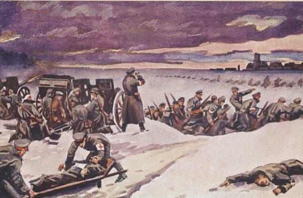 W walkach zginęło około 1700 Polaków. 6000 zostało rannych.