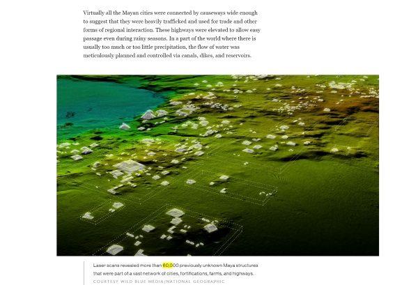 Odkryte właśnie megapolis. Screen ze strony National Geographic