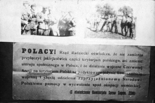 Władze ZSRR uspokajały, że nie będą przyłączały polskich ziem do Związku Radzieckiego. O tym, że zamierzały je spustoszyć, oczywiście nie wspominano...