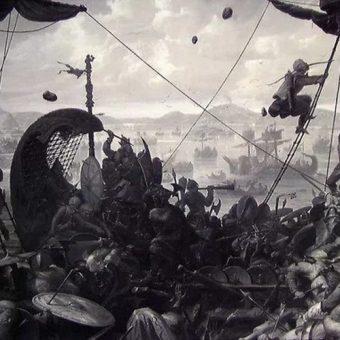 Wikińscy wojownicy (fot. domena publiczna)