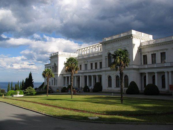 Konferencja odbyła się w pięknie położonym pałacu Potockich w Liwadii.