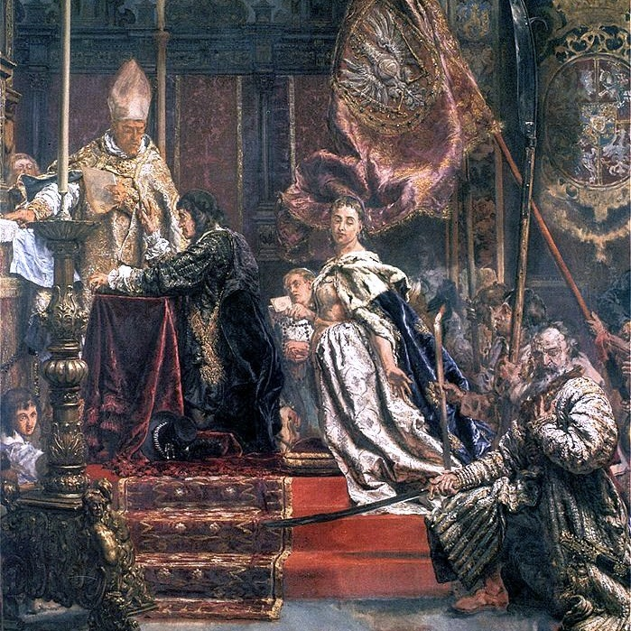 Król Jan Kazimierz złożył śluby w o katedrze lwowskiej, w obecności nuncjusza papieskiego.