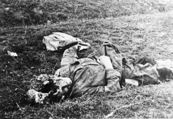 Poległy żołnierz radziecki z walce z niemieckim wojskiem. Ilu młodych mężczyzn mogło przeżyć, gdyby Stalin uwierzył w dostarczane mu raporty?