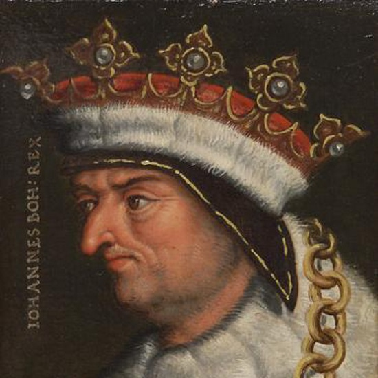 Jan Luksemburski jako następca Wacława II i Wacława III rościł sobie prawa do tronu polskiego, który zajmował od 1320 roku Władysław Łokietek.