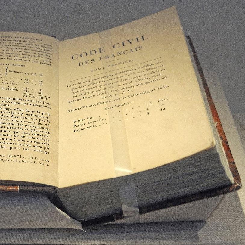 Kodeks Napoleona był jednym z najbardziej wpływowych kodeksów cywilnych w historii prawa.