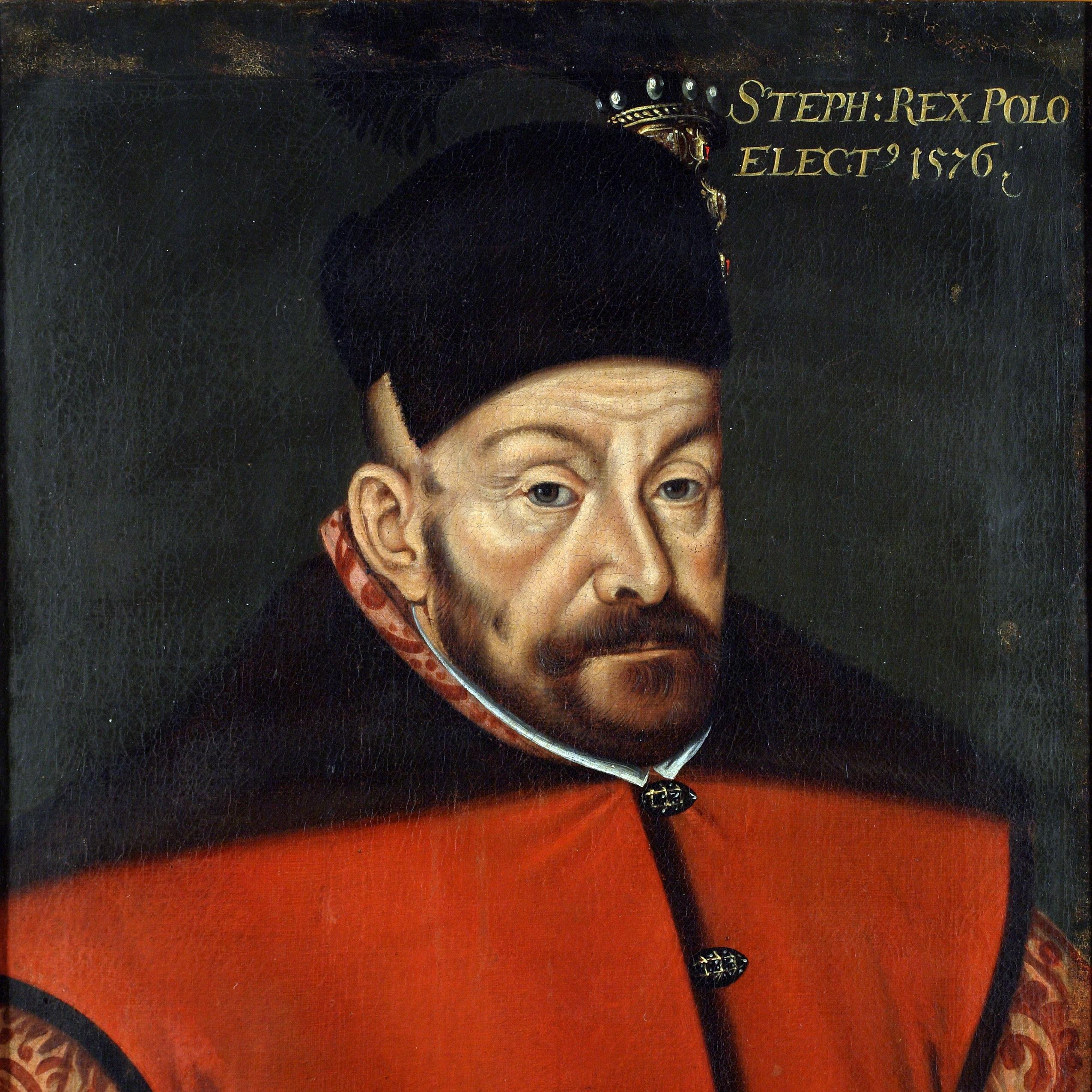 Stefan Batory został mężem króla Polski, Anny Jagiellonki w 1576 roku.