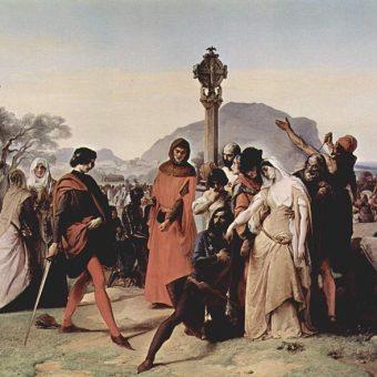 Powstanie antyfrancuskie wybuchło na Sycylii w poniedziałek wielkanocny.