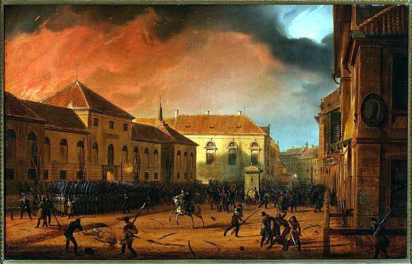 W pierwszą noc powstania przełomowa okazała się pomoc ludności Warszawy.
