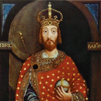 Fryderyk Barbarossa panował w latach 1152-1190.
