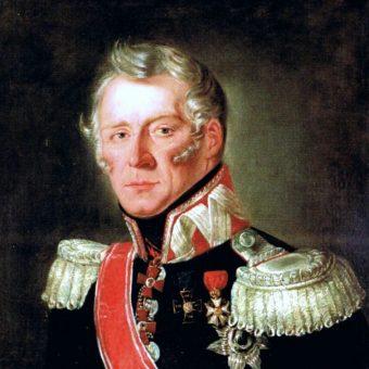 Aleksander Rożniecki, dowódca pułku jazdy podczas bitwy pod Castelfranco