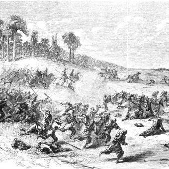 Bitwa pod Kobylanką (ilustracja francuska)