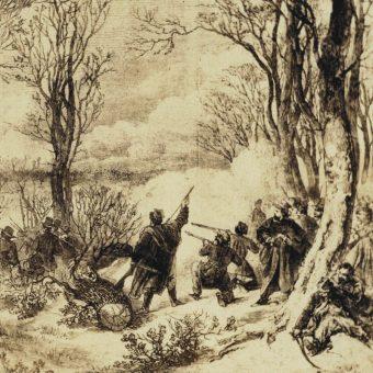 Bitwa pod Świętym Krzyżem rozegrała się 12 lutego 1863