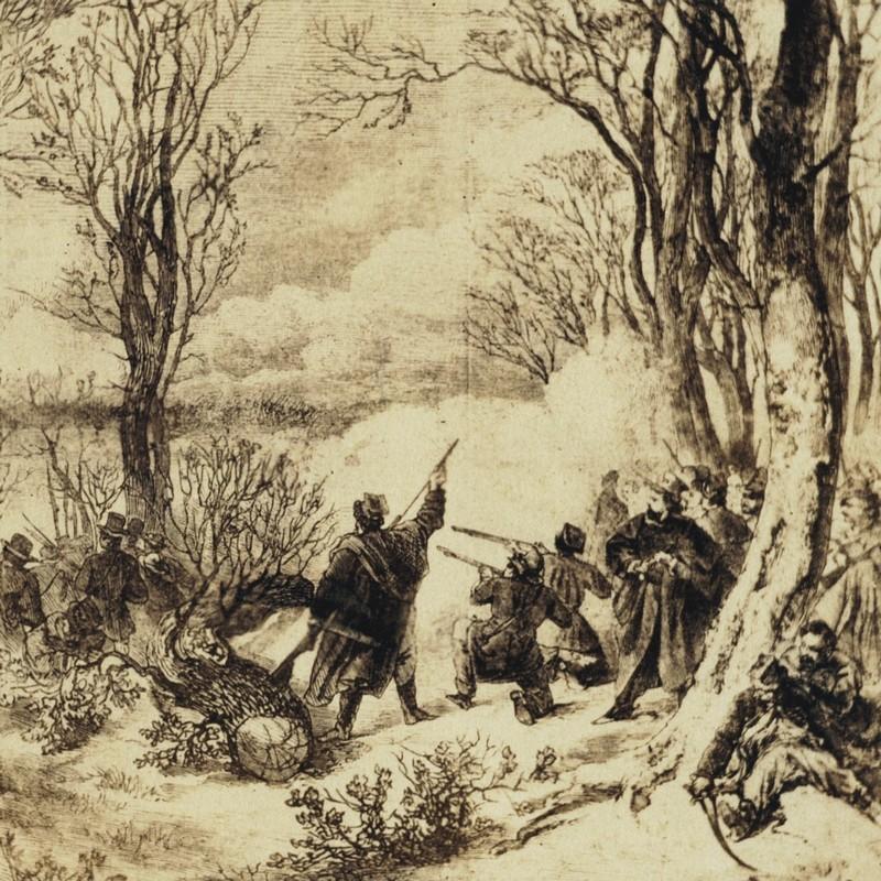 Bitwa pod Świętym Krzyżem rozegrała się 19 lutego 1864