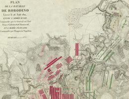Bitwa pod Borodino (fragment schematu)