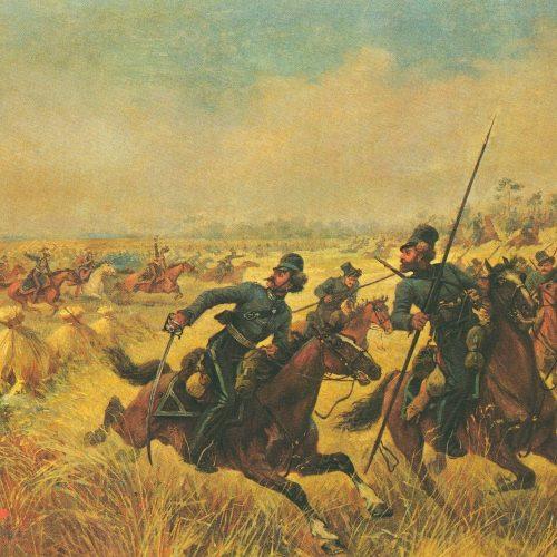 Bitwa pod Mirem (obraz Wiktora Mazurowskiego)
