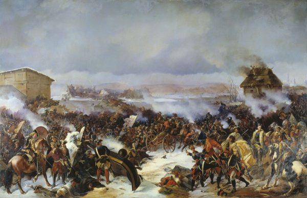 Bitwa pod Narwą w 1700 roku, będąca częścią wielkiej wojny północnej (fot. domena publiczna)
