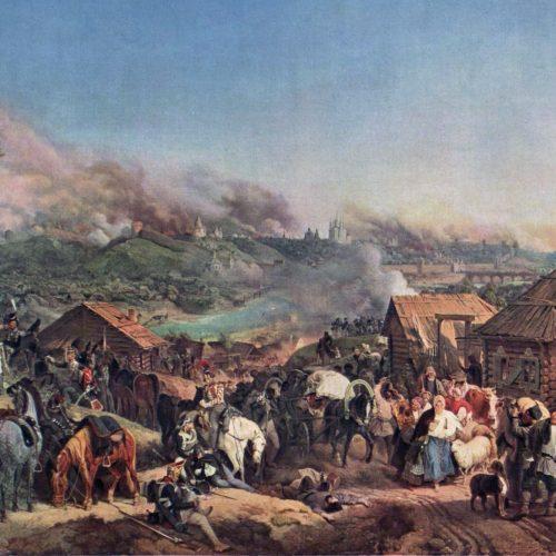 Bitwa pod Smoleńskiem na płótnie Petera van Hessa
