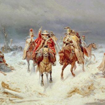 Bogdan Willewalde - Przekroczenie Berezyny