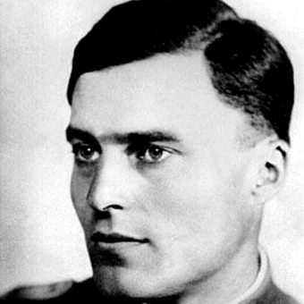 Claus Schenk Graf von Stauffenberg (fot. domena publiczna)