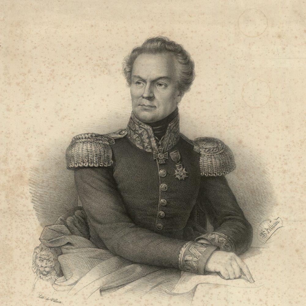 """""""Marsz, marsz, cna młodzi, Skrzynecki dowodzi!"""" - śpiewano wiosną 1831 (na reprodukcji Jan Skrzynecki)"""