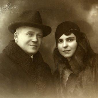 Fotografia autorstwa Juliusza Domba, będąca częścią wystawy.