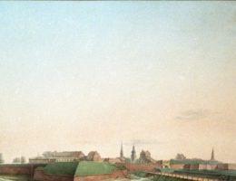 Twierdza w Zamościu, lata 20. XIX, według Jana Pawła Lelewela