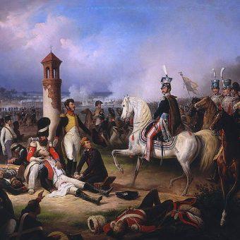 January Suchodolski, Śmierć Cypriana Godebskiego pod Raszynem (obraz z 1855 roku)