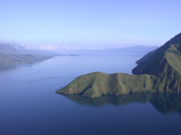 Jezioro Toba, pozostałość po wulkanie