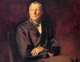 Portret Johna D. Rockefellera autorstwa Johna Singera Sargenta.