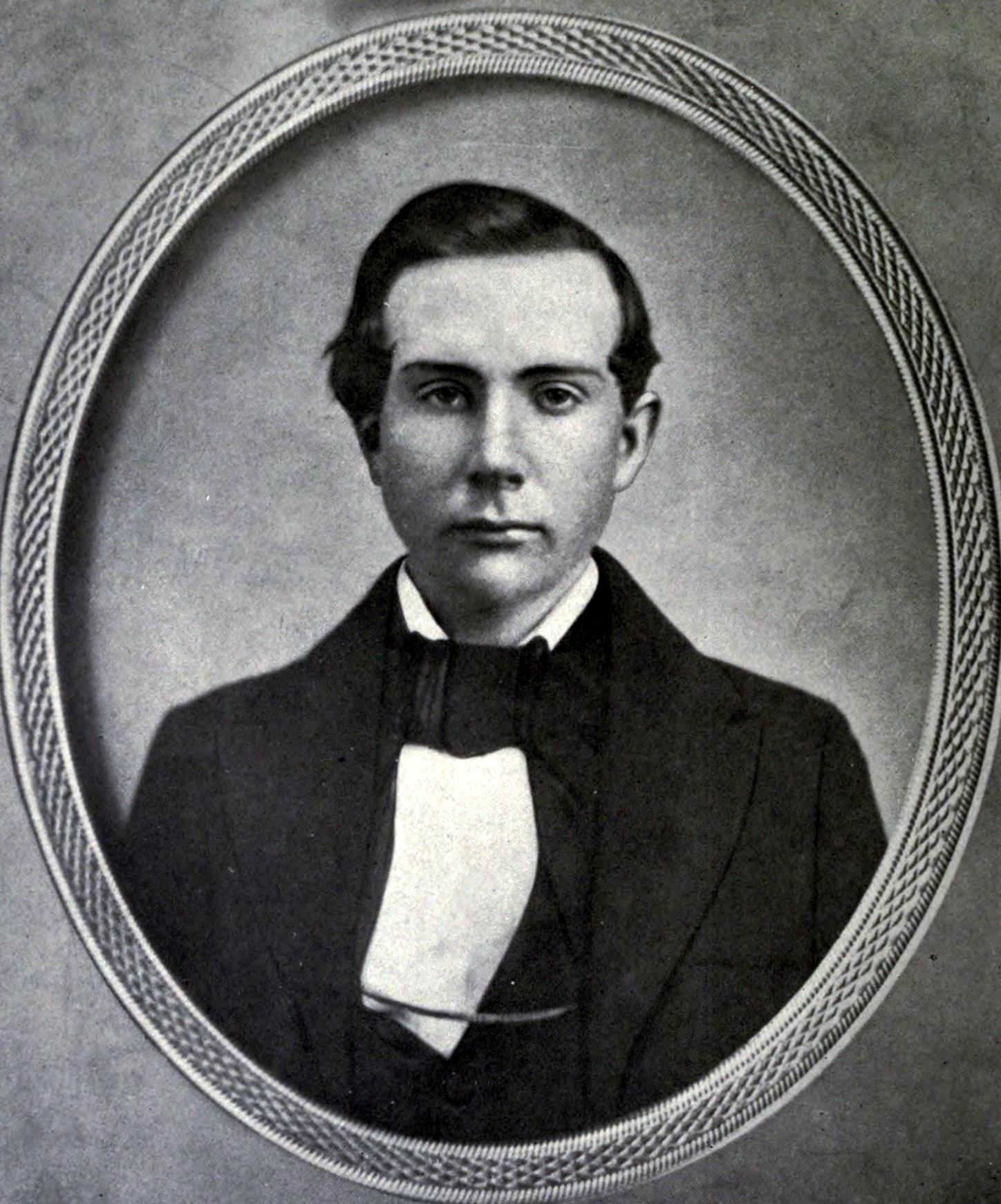 Rockefeller już od najmłodszych lat miał żyłkę do interesów. Tutaj jako 18-latek.